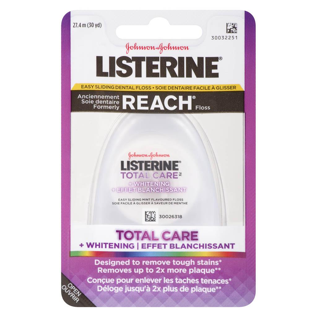 Listerine Total Care Whitening Floss