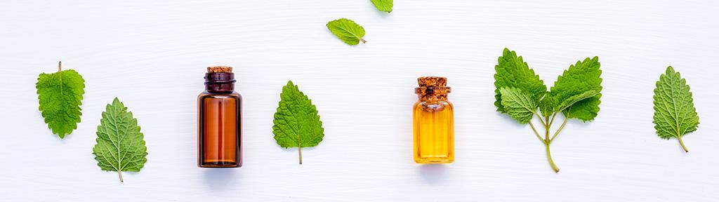 Listerine essential oils bottles