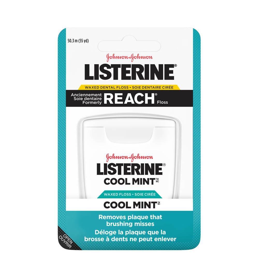 Listerine Cool Mint Floss pack