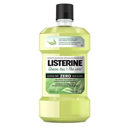 李施德林 Listerine® 綠茶 Zero 配方殺菌漱口水瓶裝