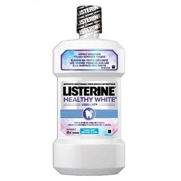 Listerine Healthy White Vibrant Mouthwash
