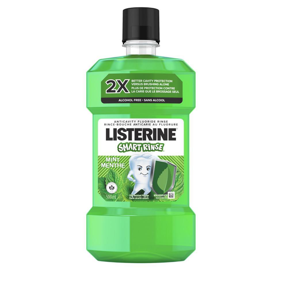 Listerine Smart Rinse Kid's Mouthwash Mint flavour