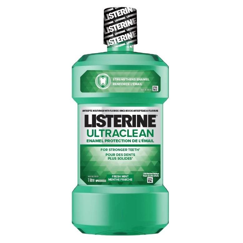 Listerine Ultra Clean Enamel Protection Mouthwash