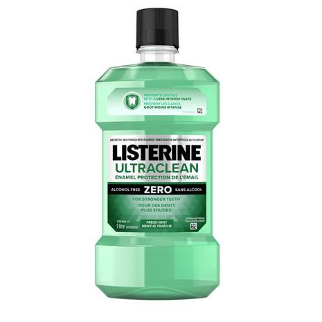 Listerine Ultraclean Enamel Protection Zero Mouthwash