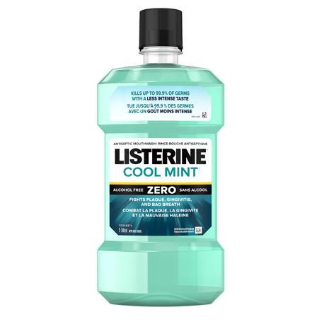 Listerine Cool Mint Zero Antiseptic Mouthwash
