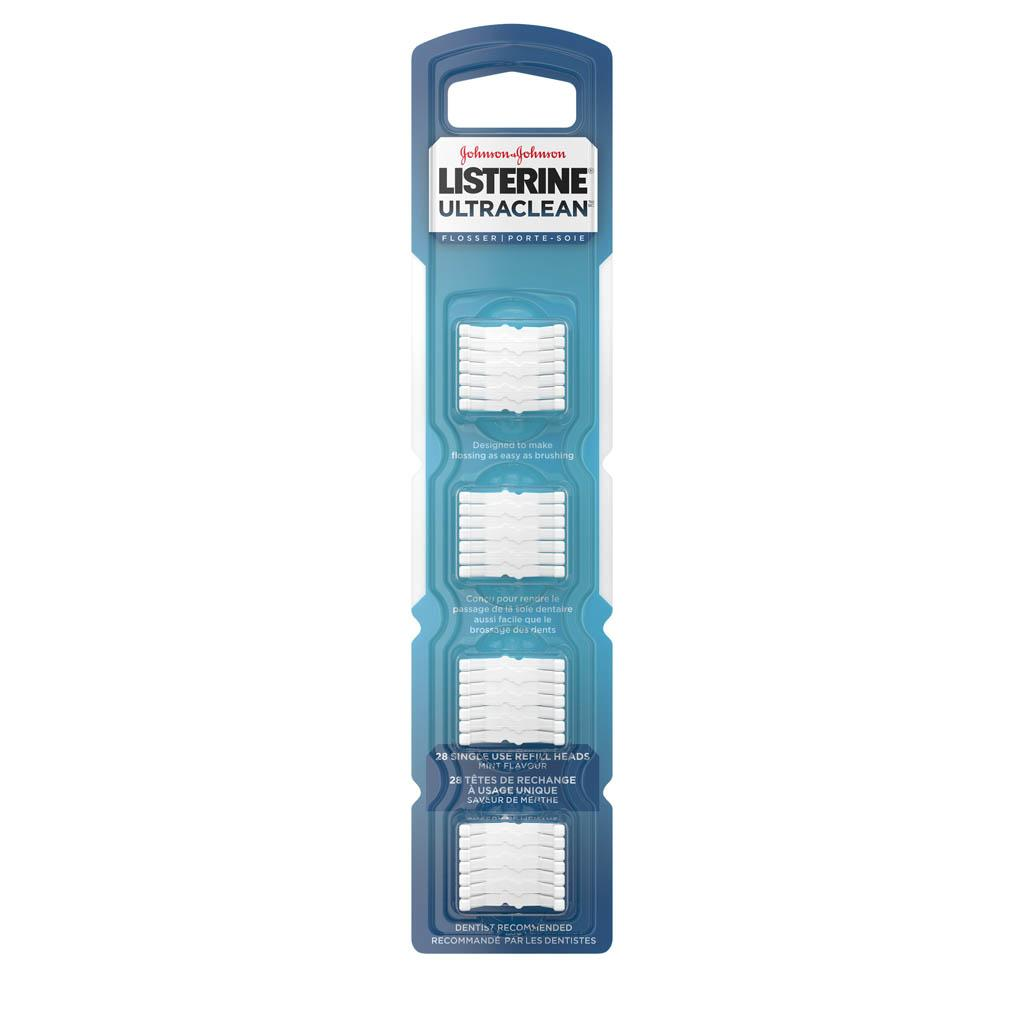Listerine Ultraclean Flosser Head Replacement