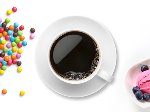 coffee, ice cream and candy that can cause tooth sensitivity